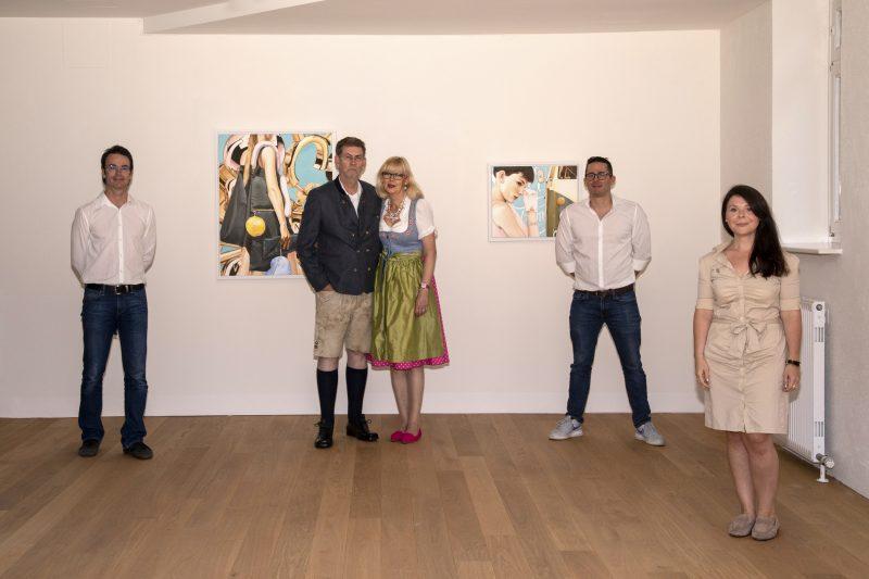 Heiner Meyer. HIGH GLOSS; Galerie HAAS & GSCHWANDTNER, Salzburg