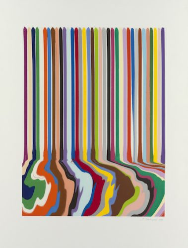 Galerie HAAS & GSCHWANDTNER, Ian Davenport, Summer, 2019