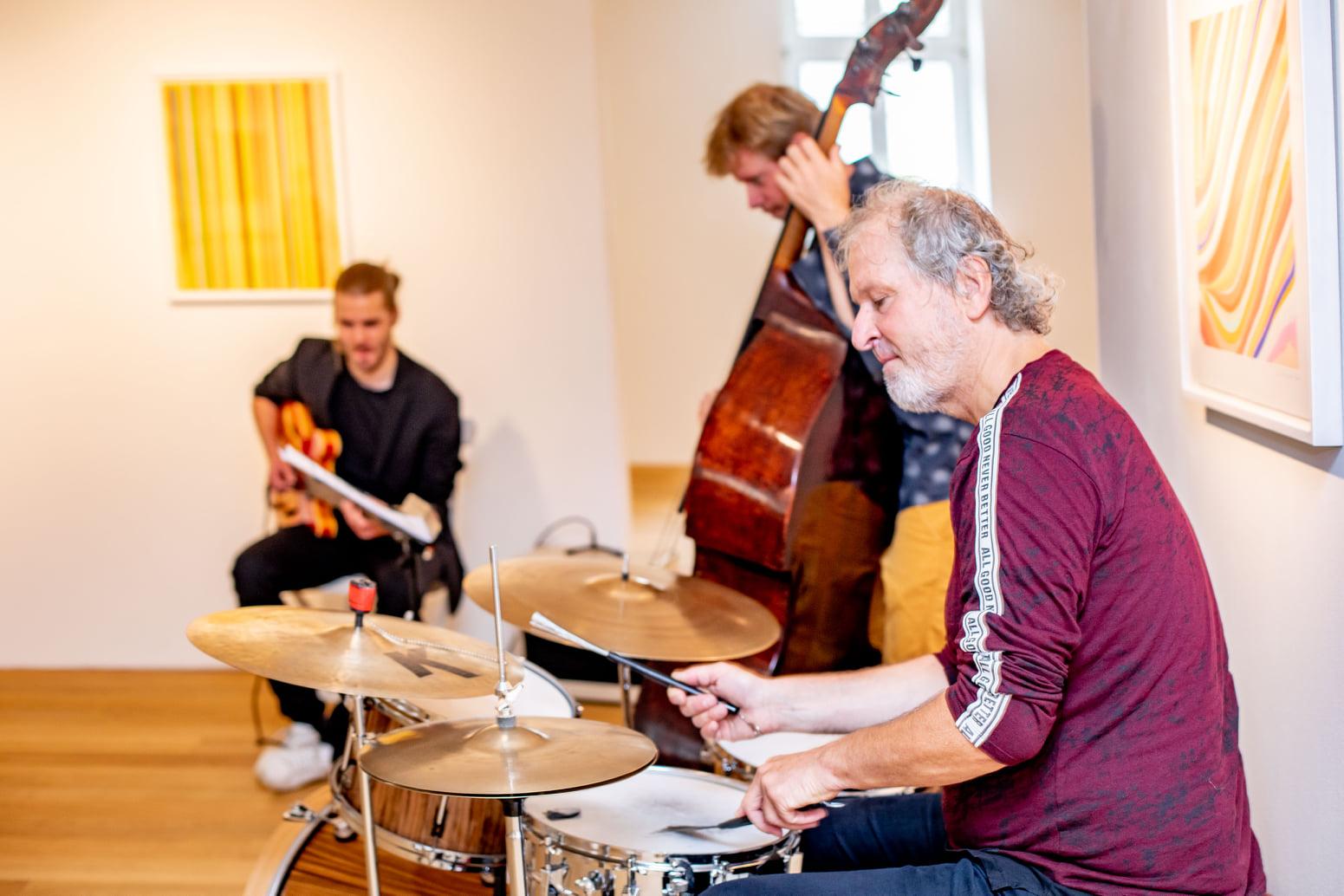 Galerie HAAS & GSCHWANDTNER, Ian Davenport COLOUR EXPLOSION ensemble021