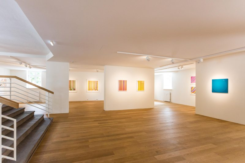 Galerie HAAS & GSCHWANDTNER, Salzburg, Ian Davenport COLOUR EXPLOSION, 2021