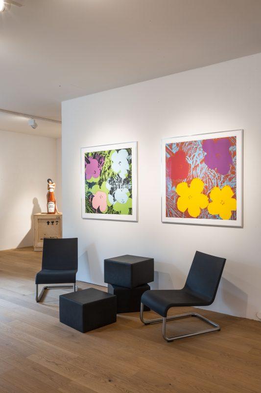Galerie HAAS & GSCHWANDTNER Salzburg, Andy Warhol, Flowers