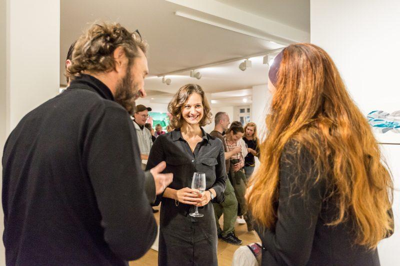 Galerie HAAS & GSCHWANDTNER Salzburg, Kathrin Isabell Rhomberg, Infinite Horizon, 2021, Foto: Sabine Bruckner